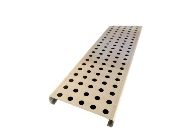 Rundlochrost, Edelstahl 123mm breit