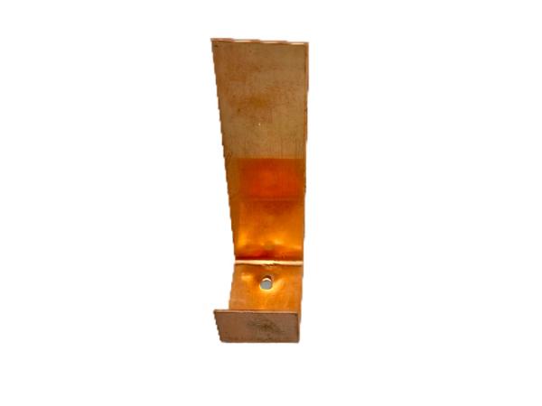Kieswinkelhalter Kupfer, L-Form