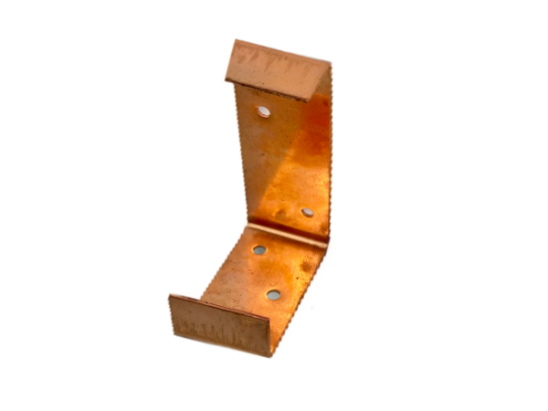 Kieswinkelhalter, Kupfer in C-Form